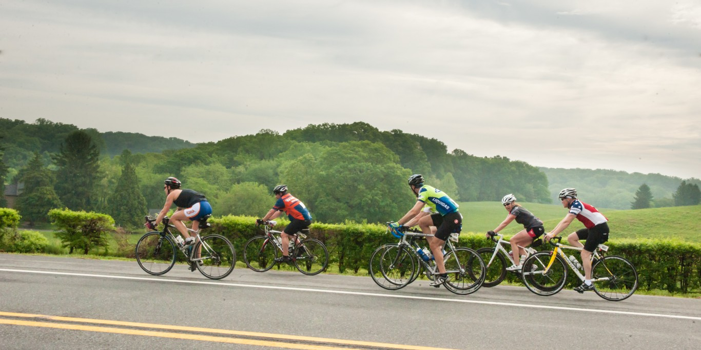The beauty of the Delaware Gran Fondo